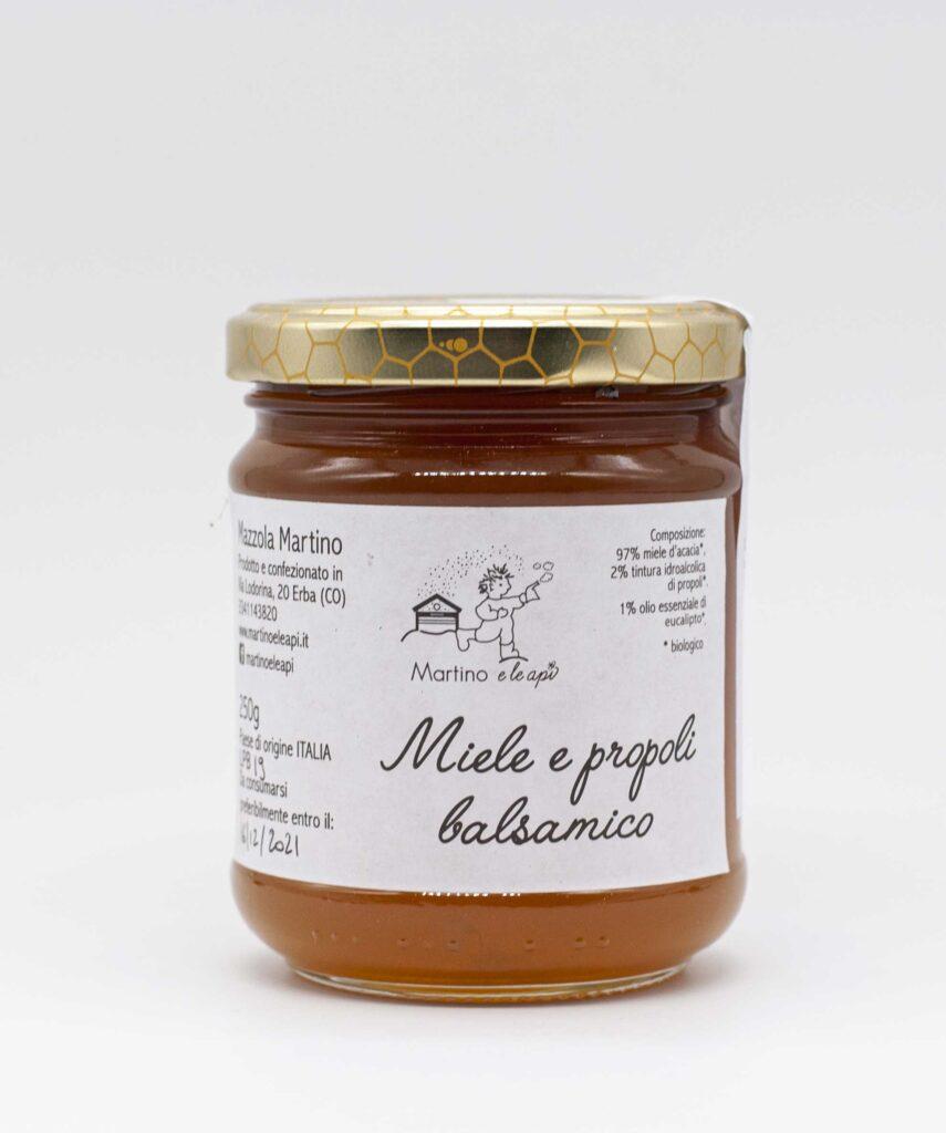 miele e propoli balsamico Martino e le Api